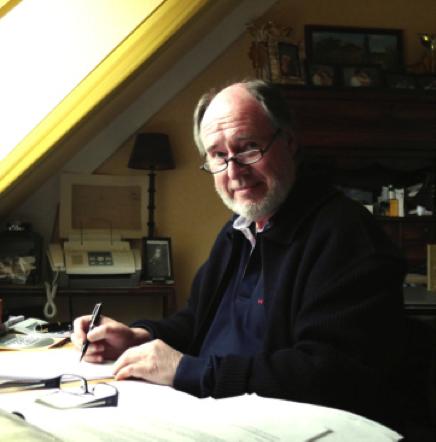 """François JALADEAU, auteur du roman """"Au-delà du vertige"""""""