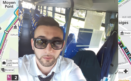 Livre bus en coulisses-Jamel Kabli
